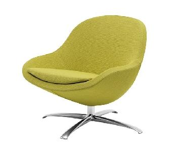 BoConcept Veneto Accent Chair in Chartreuse