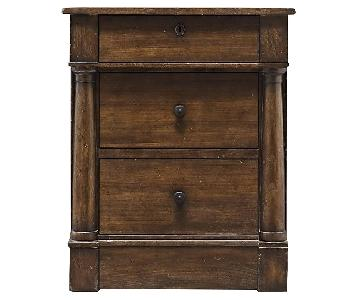 Restoration Hardware Early 19th Century American Nightstand