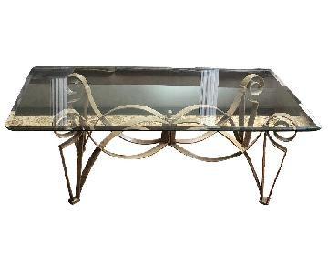 Macy's Transitional Coffee Table