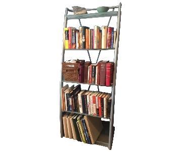 Glass & Metal Bookcase