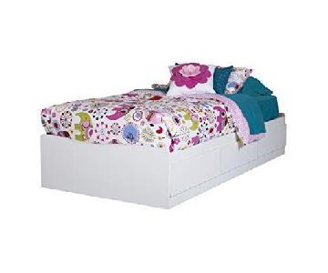 South Shore Furniture Vito Twin Bed w/ Storage
