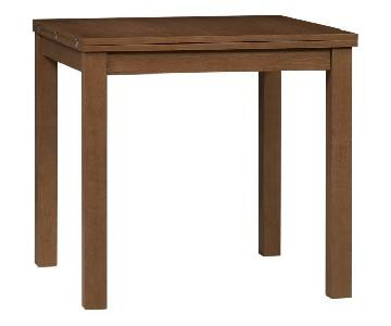 Crate & Barrel Form Flip Table w/ 4 Chairs