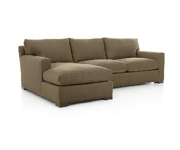 Crate & Barrel Axis II Sectional Sofa