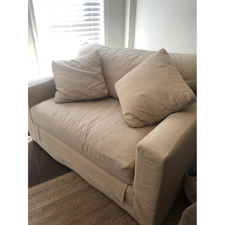 ... Crate U0026 Barrel Axis II Twin Sleeper Sofa 1 ...