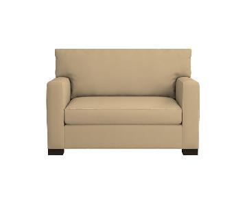 Crate & Barrel Axis II Twin Sleeper Sofa