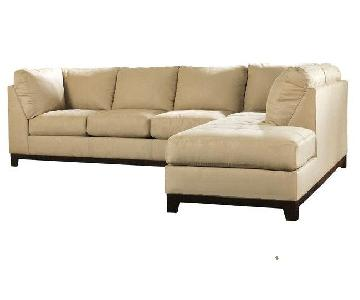 Ashley 2-Piece Sectional Sofa w/ Chaise