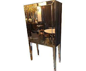 Mirrored Bar Cabinet