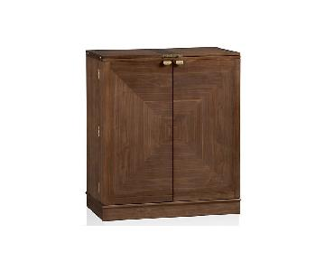 Crate & Barrel Maxine Bar Cabinet