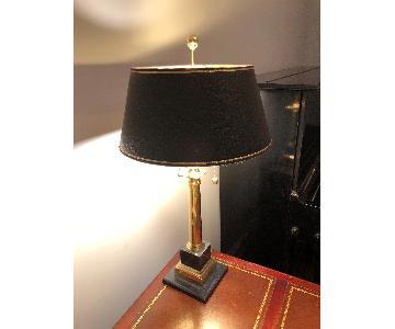 Marble & Metal Base Desk Lamp
