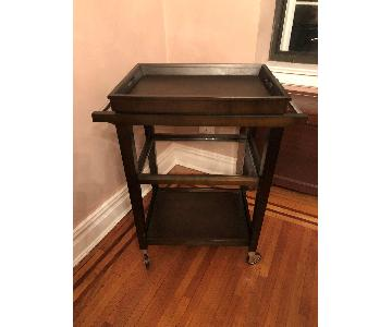 Crate & Barrel Bar Cart