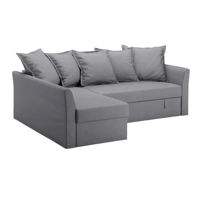 Ikea Holmsund Sleeper Sectional Sofa ...