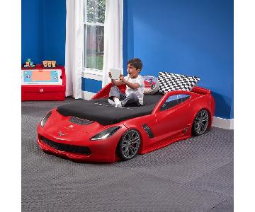Step 2 Corvette Twin Toddler Car Bed