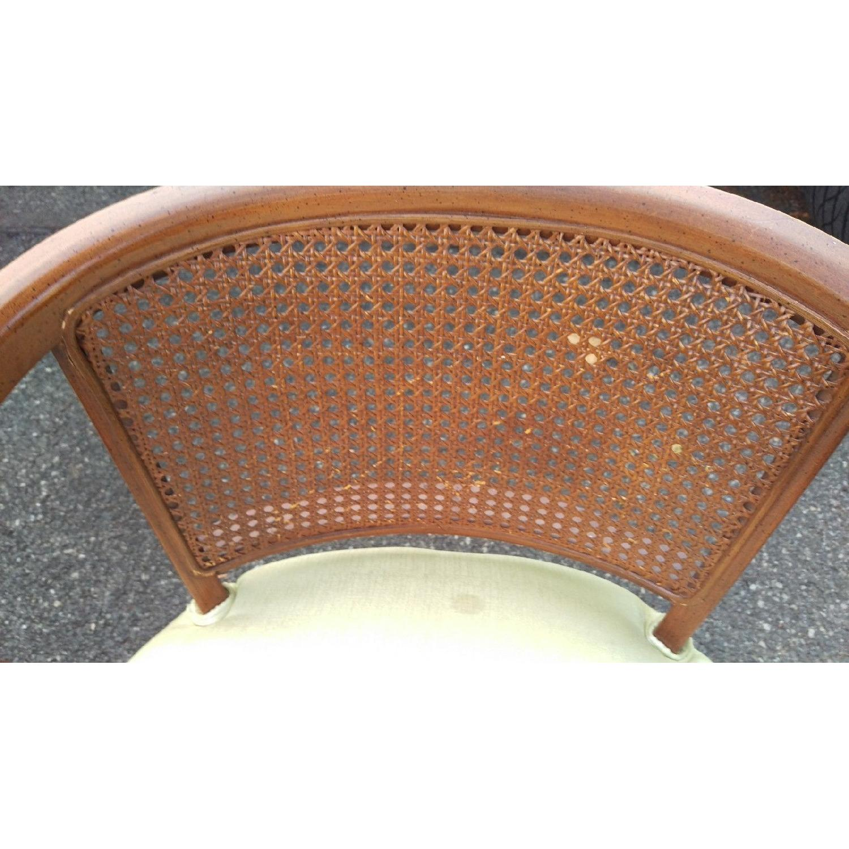 Henredon Probber 1960s Barrel Cane Back Chairs ...