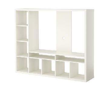 Ikea Lappland White TV Storage Unit