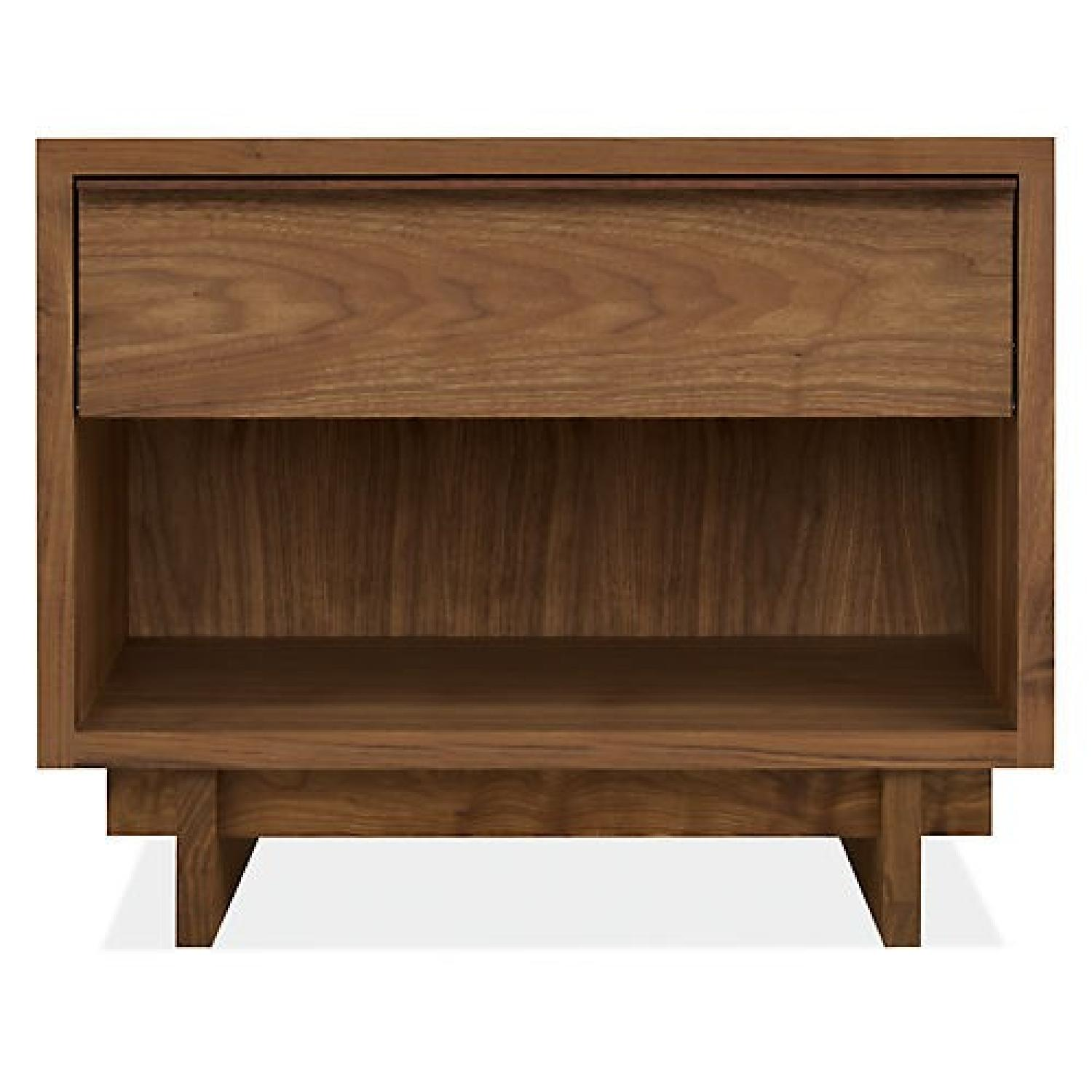 Room & Board Anton Night Stand in Walnut