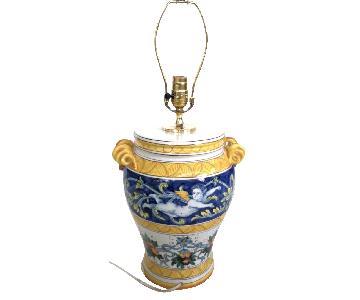 Handmade Italian Ceramic Lamp