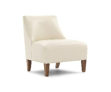 Mitchell Gold + Bob Williams Iris Leather Armless Chair