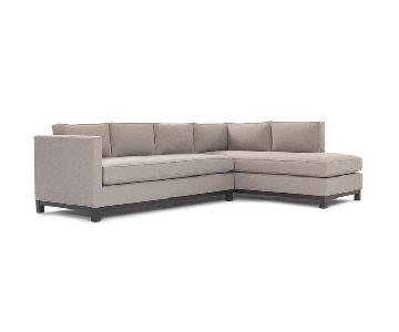 Mitchell Gold + Bob Williams Clifton Sectional w/ Chaise