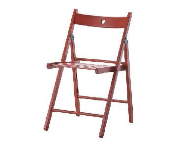 Ikea Terje Folding Chairs