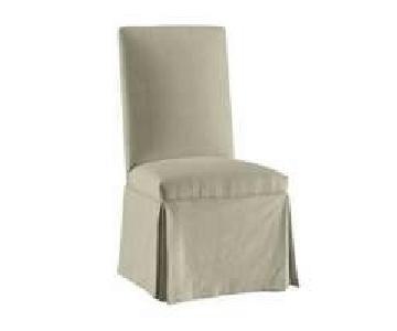 Ballard Designs Parsons Slipcovered Dining Chairs