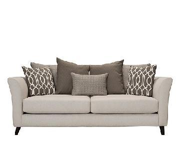 Raymour & Flanigan Kinsella Sofa & Ottoman