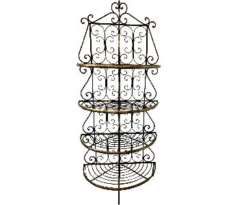 Unique French Baker's Rack