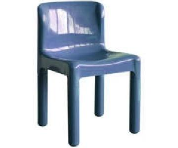 Kartell 4875 Design C Bartoli Chair in Blue