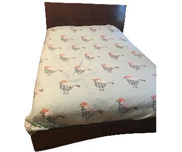 World Market Malaysian Hardwood Bed Frame