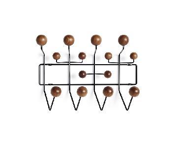 Herman Miller Eames Hang-It-All Coat Rack in Black & Walnut