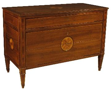 Louis XVI Style Italian Wooden Chest of Drawers