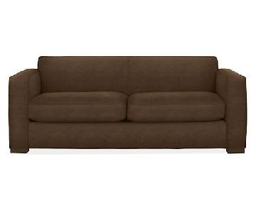 Room & Board Ian Dark Brown Sofa