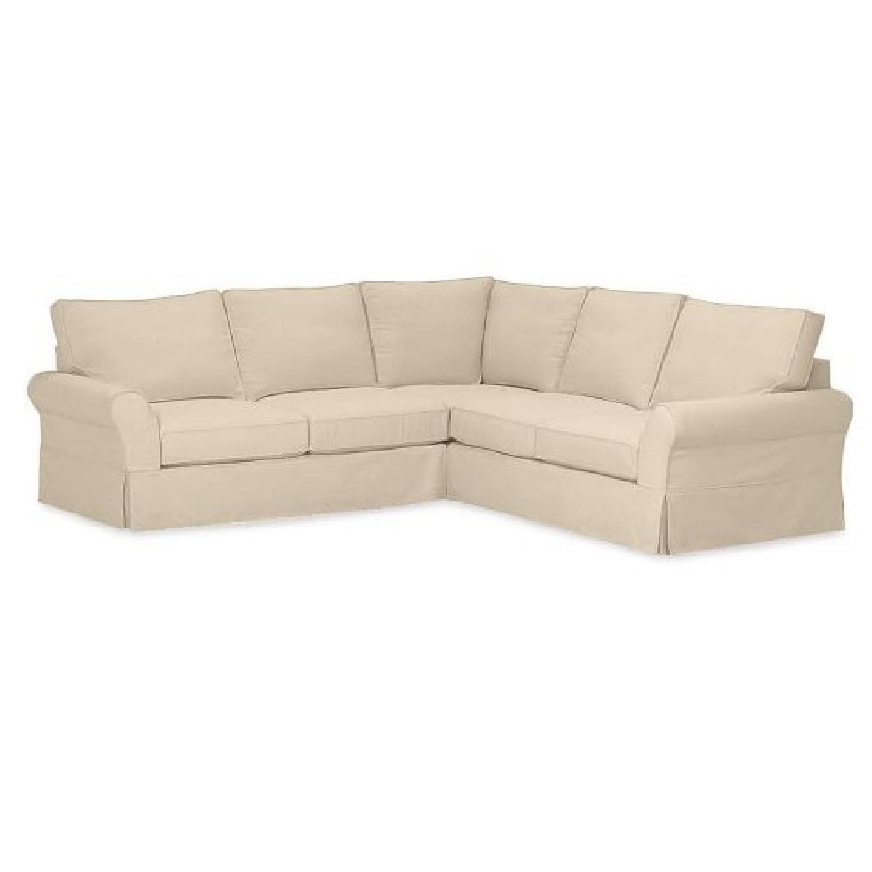 Pottery Barn PB Comfort L Shape 3 Piece Sectional Sofa ...
