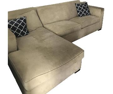Room & Board 2-Piece Sleeper Sectional Sofa