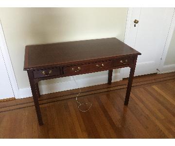 Stickley Wood 3 Drawer Desk