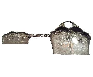 Forbes Silver Company Silverplate Crumb Catcher