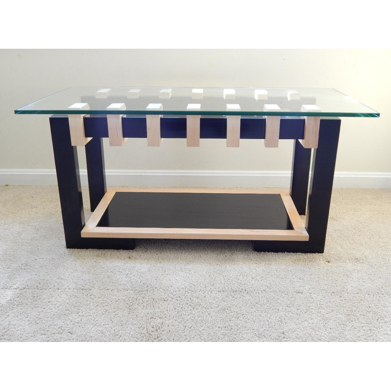 Douglas Design Unity Ant Walnut & Maple Coffee Table - image-1