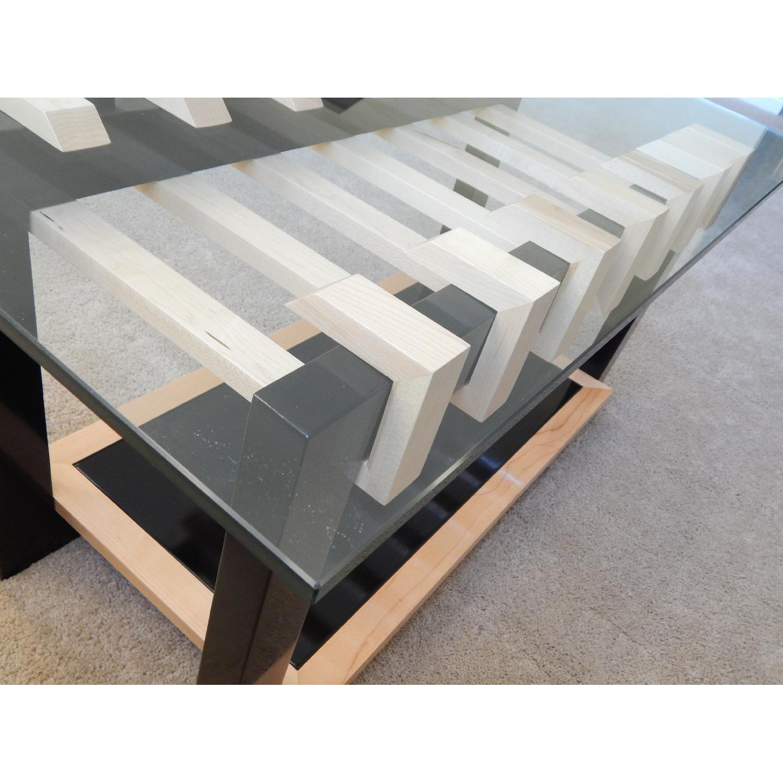 Douglas Design Unity Ant Walnut & Maple Coffee Table - image-5