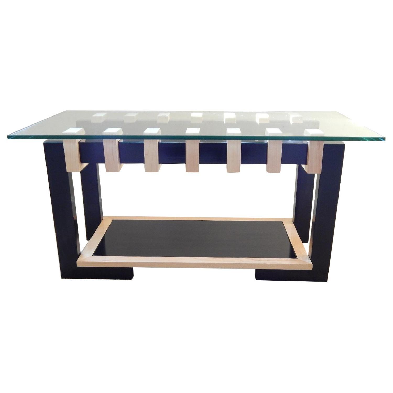Douglas Design Unity Ant Walnut & Maple Coffee Table - image-0