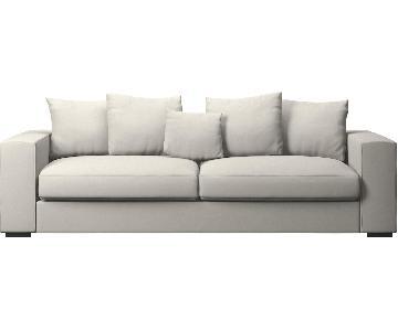 BoConcept Off-White Upholstered Sofa