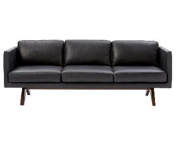 West Elm Brooklyn Leather Sofa