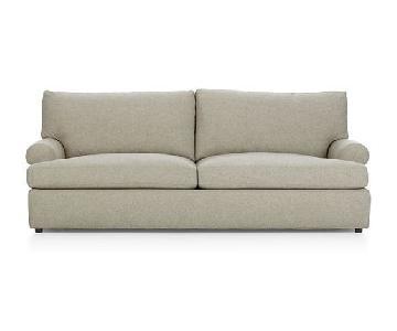 Crate & Barrel Ellyson Queen Sleeper Sofa