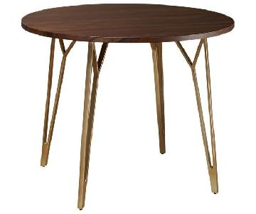 CB2 Dial Round Dining Table