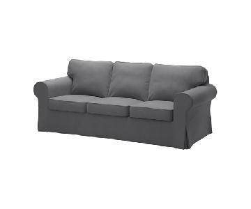 Ikea Ektorp Grey Sofa