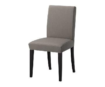 Ikea Henriksdal Grey Dining Chairs