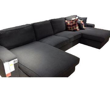 Ikea Kivik 3 Piece Sectional Sofa w/ 2 Chaises