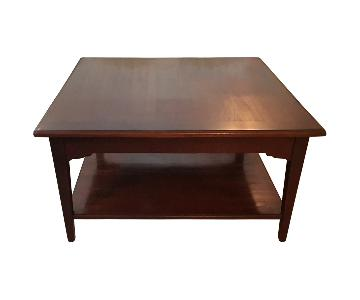 Grange Louis Philippe Solid Cherry Wood Coffee Table