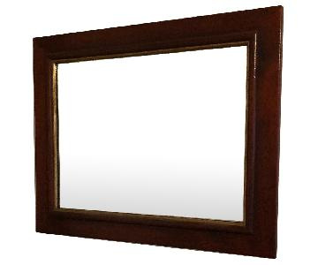 Grange Solid Cherry Wood Framed Mirror