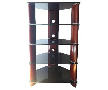 High End Audio Rack w/ Glass Shelves