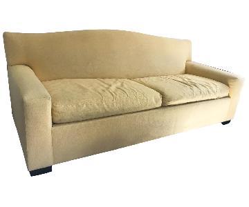 Mitchell Gold + Bob Williams Curve Back Sleeper Sofa