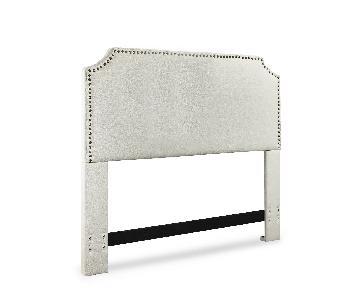 Mercury Row Luna Upholstered Panel Headboard